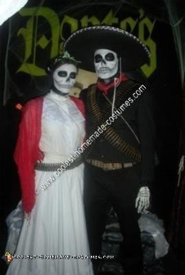 Homemade Day of the Dead Costume