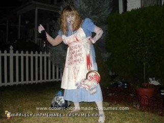 Homemade Dead Alice Costume