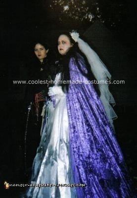 Homemade Dead Bride Costume