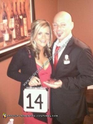 Homemade Deal or No Deal Couple Costume