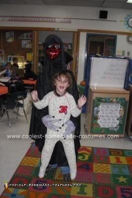 Homemade Demon Attack Halloween Costume