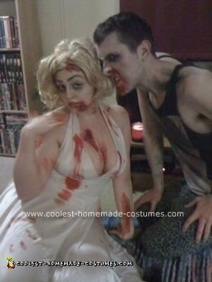 Homemade Departed Marilyn Monroe Costume