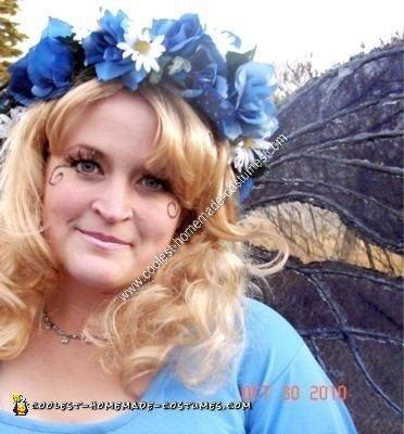 Homemade Dew Fairy Adult Halloween Costume Idea