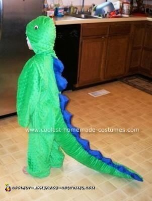 Homemade Dinosaur Costume