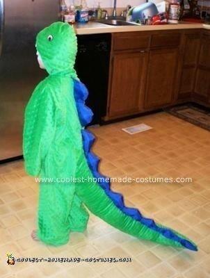 Homemade Dinosaur Costume