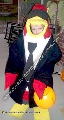 Homemade Disney's Club Penguin Secret Agent Costume