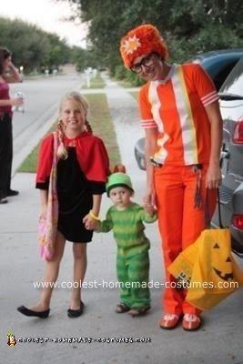 Homemade DJ Lance Rock and Brobee Couple Halloween Costume Idea