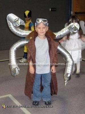 Homemade Doctor Octopus Costume