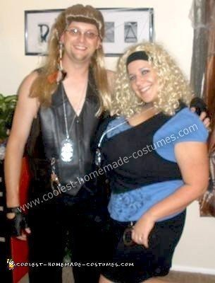 Homemade Dog the Bounty Hunter and Beth Couple Halloween Costume