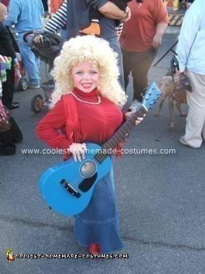 Homemade Dolly Parton Costume