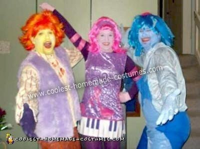 these homemade doodlebops costumes are based on the disney channel show the doodlebops my husband used to watch it in the mornings with our daughter and