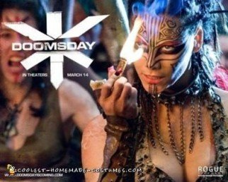 Homemade Doomsday Viper Costume