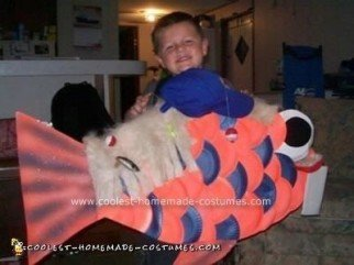 Homemade Dork Fish Costume