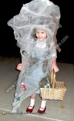 Coolest Homemade Dorothy In A Tornado From Wizard Of Oz Costume