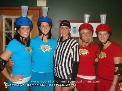 Homemade Double Dare Group Costume