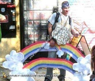 Homemade Double Rainbow Costume