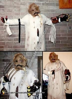 Homemade Dr Jonathan Crane AKA The Scarecrow Costume