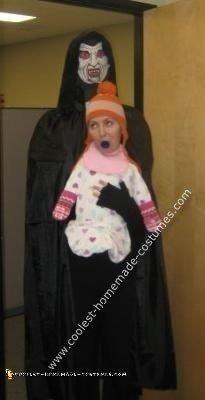Homemade Dracula Love Child Costume