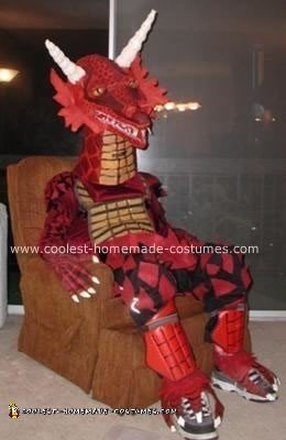 Homemade Dragon Costume