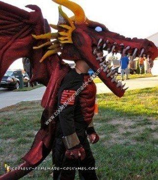 Homemade Dragon Halloween Costume Idea