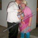 Homemade Drew Carey and Mimi Bobeck Couple Costume