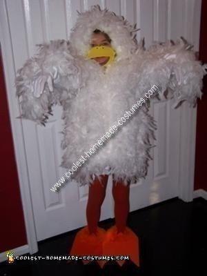 Homemade Duck Costume