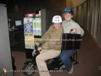 Homemade Dumb and Dumber Couple Costume
