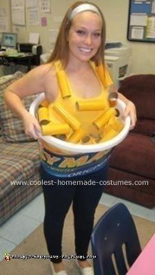 Homemade Easy Mac Costume