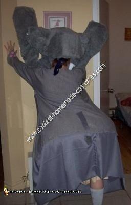 Homemade Elephant Costume