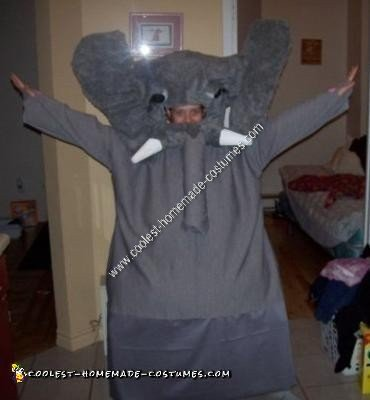 Homemade Elephant Costume