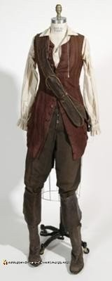 Reference Pic for Homemade Elizabeth Swann Adult Pirate Halloween Costume Idea