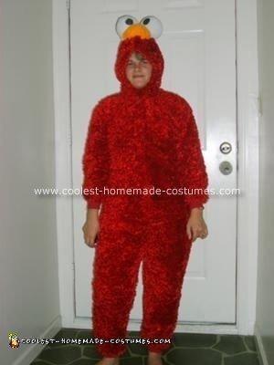 Homemade  Elmo Costume