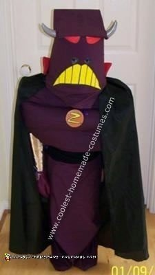 Homemade Emperor Zurg Costume