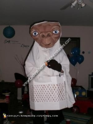 Homemade E.T Costume
