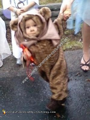 Homemade Ewok Costume