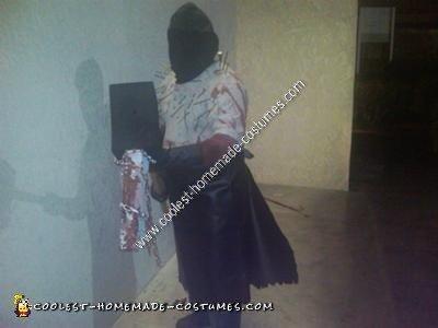 Homemade Executioner from Resident Evil Halloween Costume