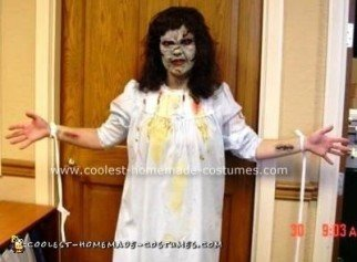 Homemade Exorcist Costume