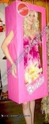 Coolest Homemade Expecting (Pregnant) Barbie Costume
