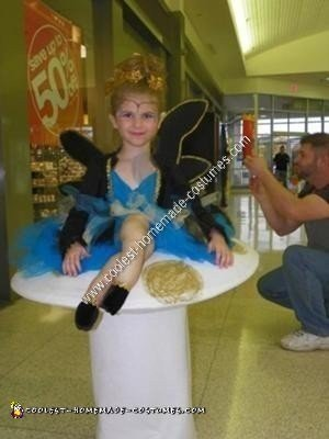 Homemade Fairy Princess Illusion Halloween Costume Idea