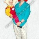 Homemade Family Guy Stewie and Lois Griffin Costumes