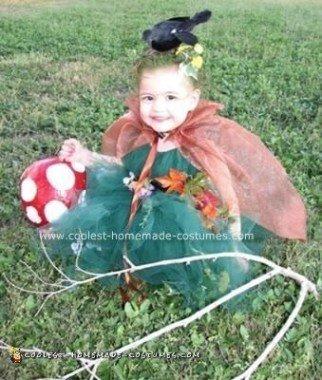 Homemade Fantasy Nymph Costume