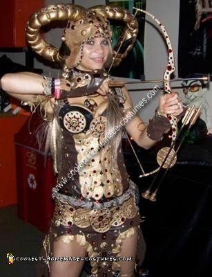 Homemade Fantasy Warrior Chic Costume