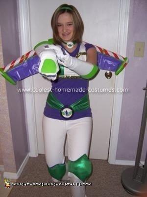 Homemade Female Buzz Lightyear Costume