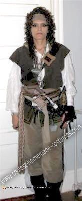 Homemade Female Pirate Costume