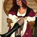 Homemade Female Pirate Wench Costume