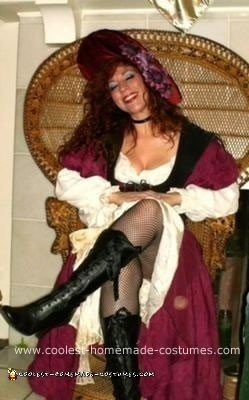 Homemade Female Pirate Wench Costume
