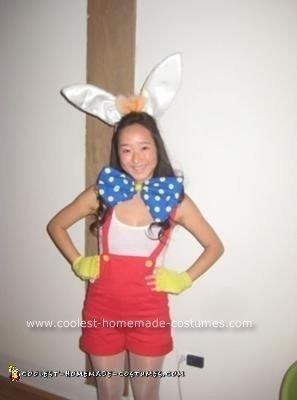 Homemade Female Roger Rabbit Costume