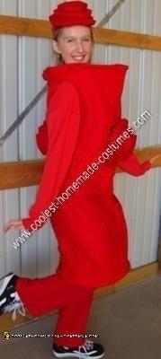 Homemade Fire Hydrant Halloween Costume