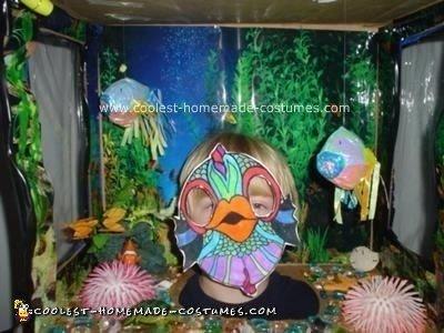 Homemade Fish Aquarium Costume