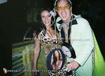 Homemade Flavor Flav and Ms. New York Costume